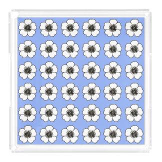 Cornflower-Blue-Cottage-Flower's-TRAY_Home-Decor