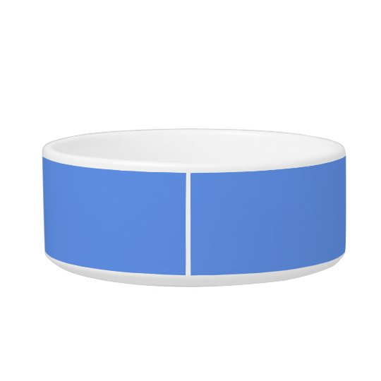 Cornflower Blue Fashionable Colour Coordinating Cat Water Bowl