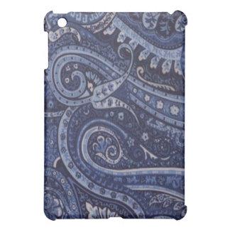 Cornflower Blue Paisley  Case For The iPad Mini