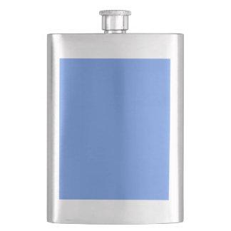 Cornflower Blue Hip Flasks