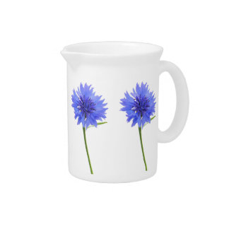 cornflower blue pitcher