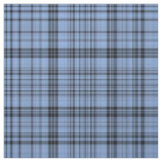 Cornflower Blue Plaid Fabric