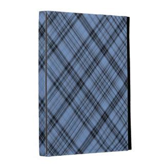 Cornflower Blue Plaid iPad Case