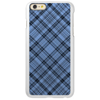 Cornflower Blue Plaid iPhone 6 Plus Case