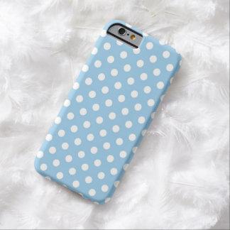 Cornflower Blue Polka Dot iPhone 6 case