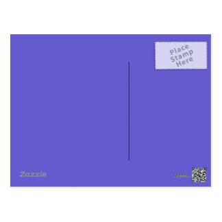 Cornflower Blue Postcard