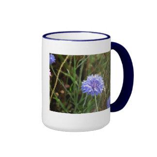 Cornflower Blue Ringer Mug