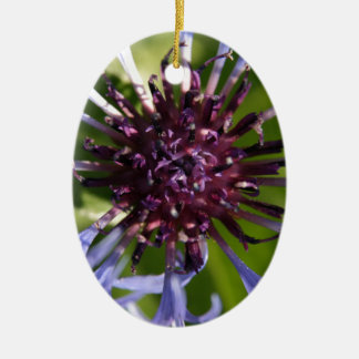 Cornflower Christmas Ornament