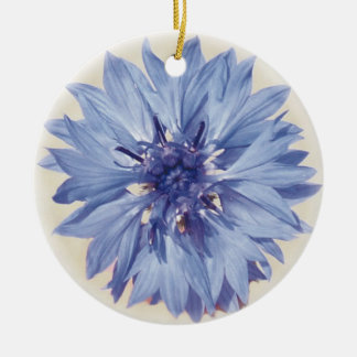 Cornflower Christmas Ornament