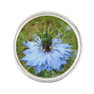 Cornflower Lapel Pin
