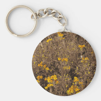 cornflowers Sepia, in the Rocky Mountain Key Chain