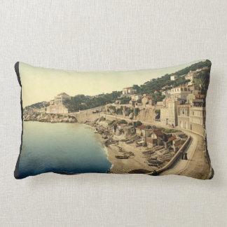 Corniche Road, I, Marseilles, France Lumbar Cushion