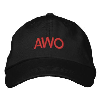 Corning Wrestling Federation AWO hat Embroidered Hats