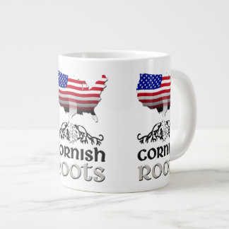 Cornish American Ancestry Roots Large Coffee Mug