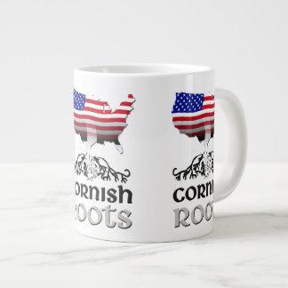 Cornish American Ancestry Roots Large Coffee Mug