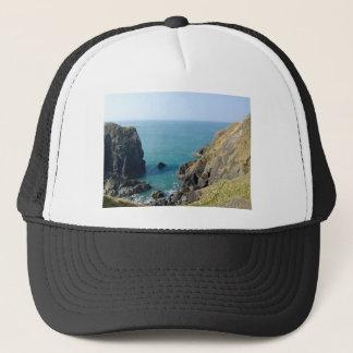 Cornish cliffs trucker hat
