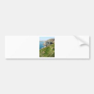 Cornish coast bumper sticker