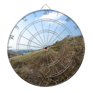 Cornish coast dartboard