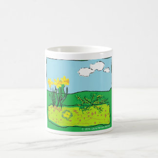Cornish Daffodil, Primrose and Gorse Mug