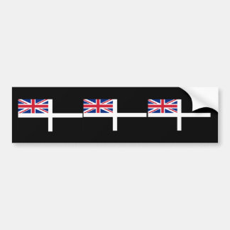 Cornish Ensign, United Kingdom Bumper Sticker