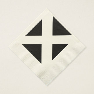 Cornish Flag Coined Luncheon Napkins Disposable Serviettes