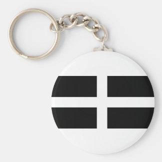 CORNISH FLAG KEY RING
