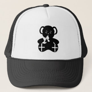 Cornish Flag Teddy Bear Trucker Hat
