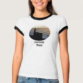 Cornish Maid Tin Mine Cornwall England T-Shirt