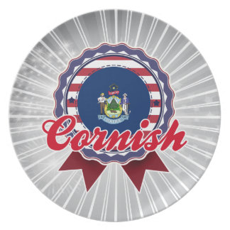 Cornish, ME Plate