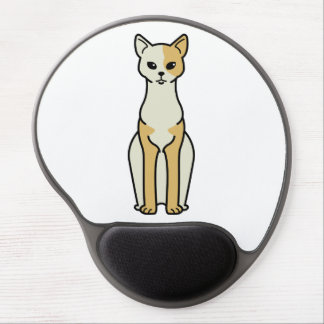 Cornish Rex Cat Cartoon Gel Mouse Pad