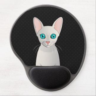 Cornish Rex Cat Cartoon Paws Gel Mouse Mat