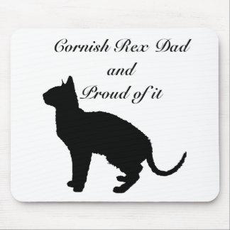 Cornish Rex Dad Mouse Pad