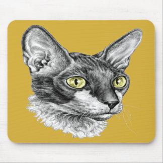Cornish Rex Sketch Mousepads