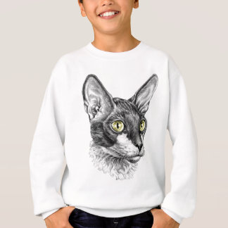 Cornish Rex Sketch Sweatshirt