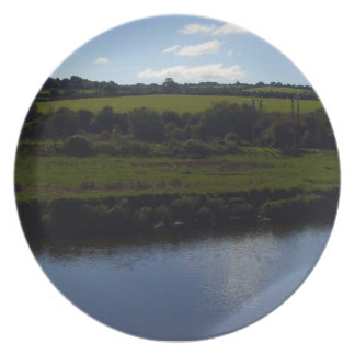 Cornish River and Countryside Party Plate