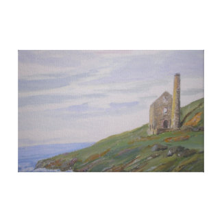 Cornish Tin Mine Canvas Print
