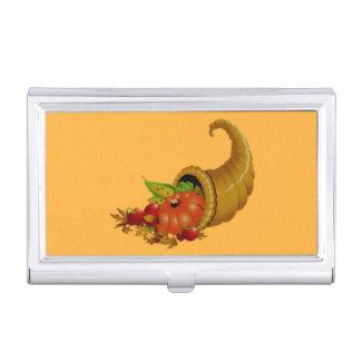 Cornucopia / Horn of Plenty Business Card Cases