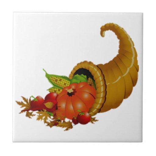 Cornucopia / Horn of Plenty Tiles