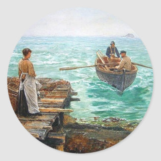 Cornwall 1895 classic round sticker