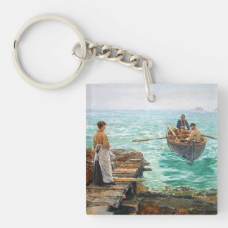 Cornwall 1895 Customisable Key Ring