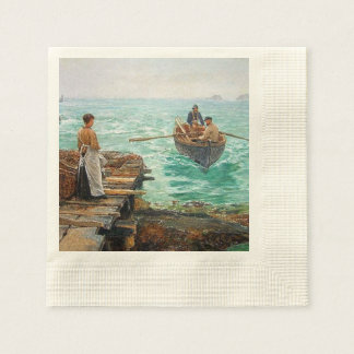 Cornwall 1895 disposable napkin