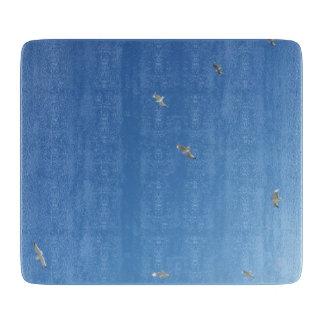 Cornwall Blue Sky & Gulls Chopping Board Cutting Boards