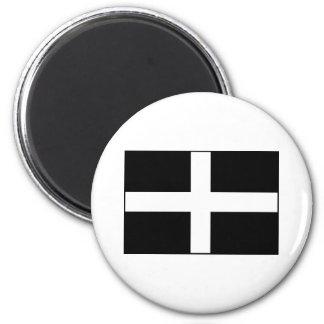 Cornwall Cornish Flag St Piran s Fridge Magnet