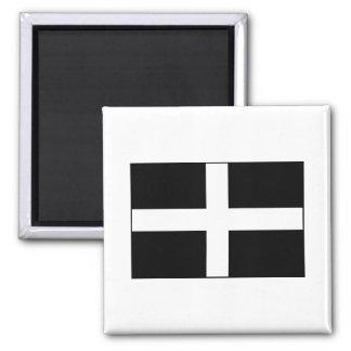 Cornwall Cornish Flag St Piran s Refrigerator Magnet