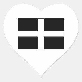 Cornwall Cornish Flag St Piran s Stickers