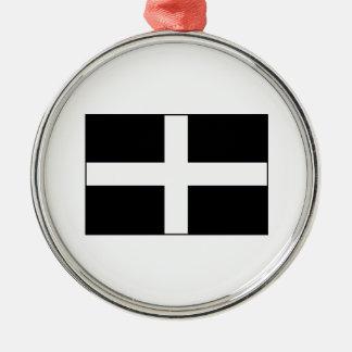 Cornwall Cornish Flag  St. Piran's Ornaments