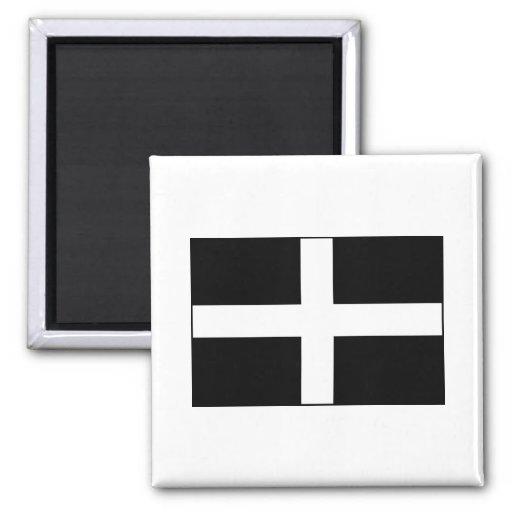 Cornwall Cornish Flag  St. Piran's Refrigerator Magnet