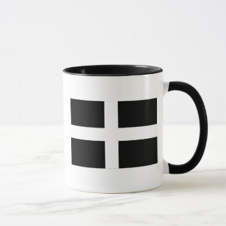 Cornwall - Cornish Flag / St. Piran's Mug