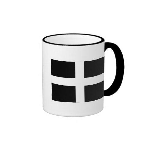 Cornwall - Cornish Flag / St. Piran's Mugs