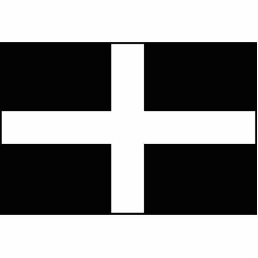 Cornwall - Cornish Flag St. Piran's Cut Outs